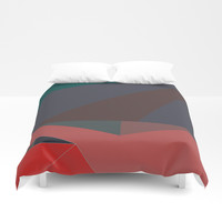 Shape Play 2 Duvet Cover by duckyb