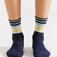 Out From Under Banded Striped Crew Sock | Urban Outfitters