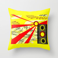 Sunny Throw Pillow by Mittelbach Marenco Florencia