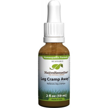 Native Remedies Leg Cramp Away - 2 oz Liquid