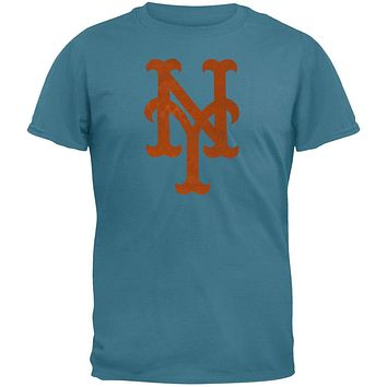 New York Mets - Vintage Logo Soft T-Shirt