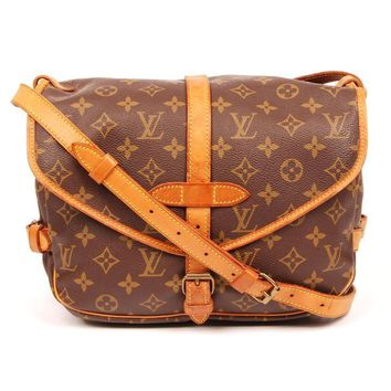 Louis Vuitton Saumur 30 Canvas Diaper Bag 5693 (Authentic Pre-owned)