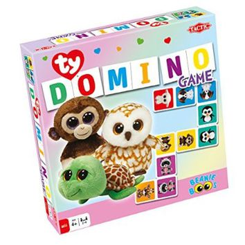 Ty Beanie Boos Domino Game - Family Game by Tactic Games (53288)