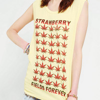 Lords Of Liverpool Strawberry Fields Muscle Tee