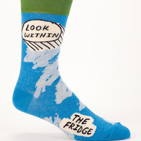 Look Within The Fridge Men's Socks