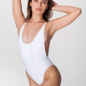 rnt68n - The Nylon Tricot High-Cut One-Piece
