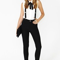 Nasty Gal Riot Maker Suspender Pant