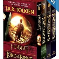 J.R.R. Tolkien Boxed Set (The Hobbit and The Lord of the Rings) Mass Market Paperback – Box set, September 12, 1986