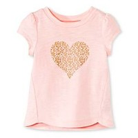 Toddler Girls' T-Shirt Pink - Cherokee® : Target