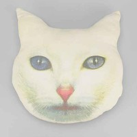 Cat Face Pillow- Multi One