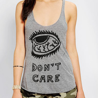 Urban Outfitters - Saturday School Eye Don't Care Tank Top