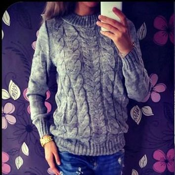 Gogoboi Long Sleeved Knitted Sweaters