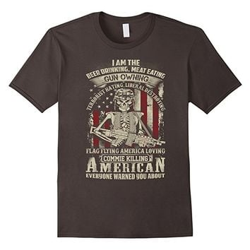 Gun Owning US Veterans Day Limited T-Shirt