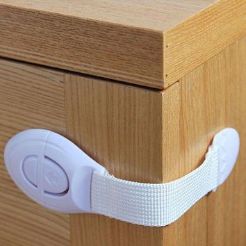 1 pc Plastic Locks Protection Children Kids from Drawer Door Cabinet Cupboard Lock Child Baby Safety Lock Products Accessories