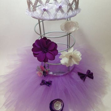 purple hairbow holder, hair clip holder,hair bow holder, princess decorations, tutu decoration, hair bow stand, tiara, baby nursery