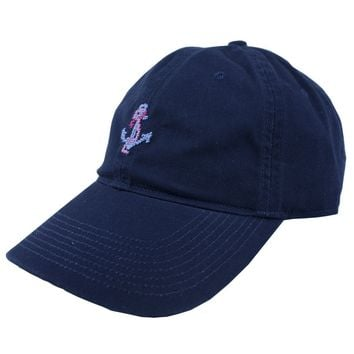Delta Gamma Needlepoint Hat in Navy by Smathers & Branson