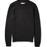 Maison Martin Margiela - Knitted Wool and Alpaca-Blend Sweater | MR PORTER