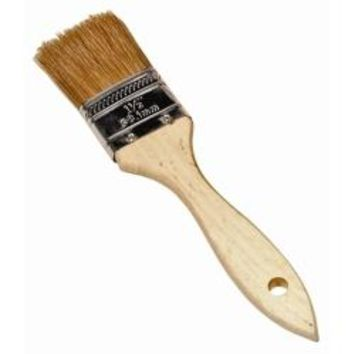 BRUSH UTILITY 1-1/4IN. NATURAL BRISTLES WOOD HNDLE