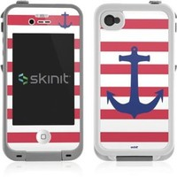 Nautical Stripes Lifeproof iPhone 4&4s Skin