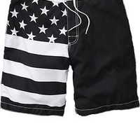 Men's Stars & Striped Board Shorts | Old Navy