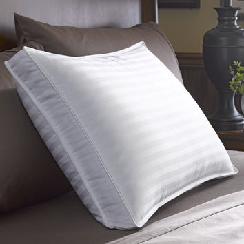 Restful Nights Down Surround Density Pillow Super Standard-Size Natural Pillows - Firm