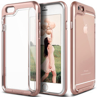The Rose Gold & Clear Polycarbonate Bumper iPhone 6/6s Case