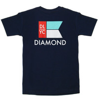 Diamond Supply Co. - Yacht Flag T-Shirt (Navy)