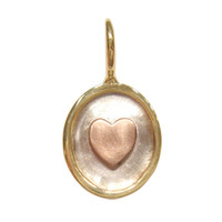 Heather Moore Rose Gold Heart Charm
