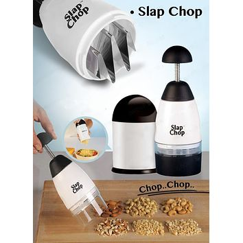 Slap Chopper - ABS+Stainless Steel Easy Slicer Chopping Multi-function Kitchen Accessory