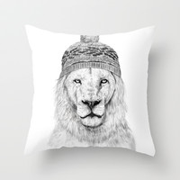 Winter is coming Throw Pillow by Balázs Solti