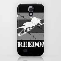 FREEDOM! Snowmobile iPhone & iPod Case by SCREAMNJIMMY