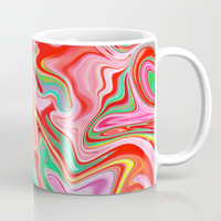 Summer Abstract2 Mug by LEMAT WORKS