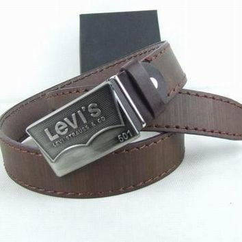 Perfect Levis Fashion Smooth Buckle Belt Leather Belt-1