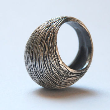 Sterling Silver Oxsidized Ring