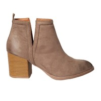 Alessia Cutout Ankle Boots