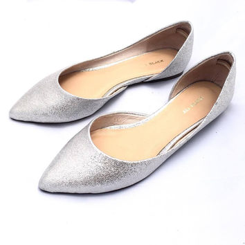 Sparkle Flat- Silver