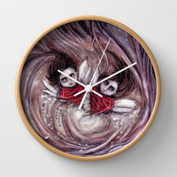 Dearly Loved Friday Wall Clock by Rouble Rust