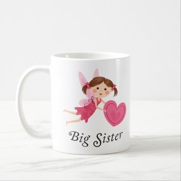 Big sister fairy with love heart cup