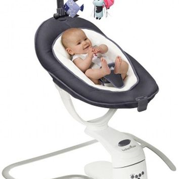 Babymoov Swoon Motion Automatic Motion Detector Baby Swing Bouncer Soother Zinc