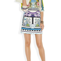 Mary Katrantzou | Tullie printed crepe skirt | NET-A-PORTER.COM