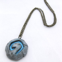 Warcraft Inspired Hearth Necklace