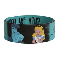 Disney Alice In Wonderland Caterpillar Rubber Bracelet