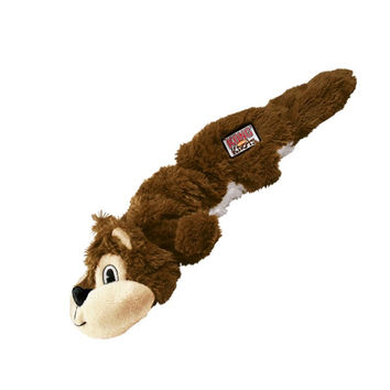 Kong Scrunch Knots Squirrel Plush Dog Toy