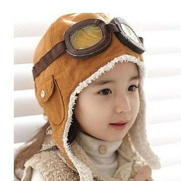 Fashion Winter Baby Hat Lovely Baby Cap For Warm Children Winter Knitted Hat Kids Brand Boy Girl Hat Casquette