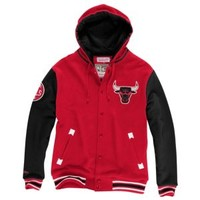 Mitchell & Ness NBA Second Quarter Fleece Jacket - Men's at Eastbay