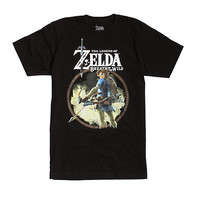 The Legend Of Zelda: Breath Of The Wild Link Bow & Arrow T-Shirt