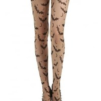 Pamela Mann Bat, Star & Moon Tights | Attitude Clothing