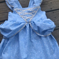 Boutique Custom Princess Cinderella Inspired Dress~ Size 2-8 Great for birthday parties