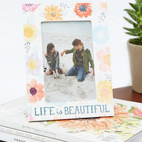 Life Is Beautiful Frame - Urban Outfitters