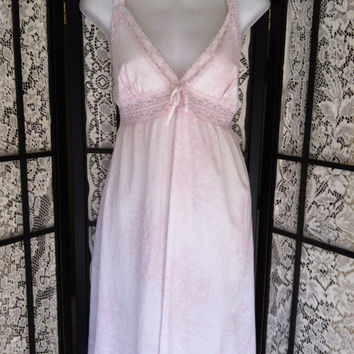Rachel Ashwell Shabby Chic Womens M Nightgown 100% Cotton